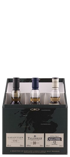 Conjunto Whisky Selection Caixa Verde