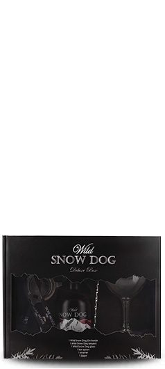 Wild Snow Dog Deluxe Box Cherry